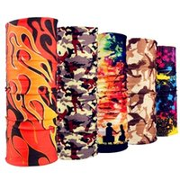 Wholesale Camouflage outdoor seamless ever ride the magic scarf collar men and women travel is prevented bask in quick drying collar head hair band