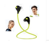 Wholesale Portable Sport Stereo Wireless Bluetooth Headset Mobile Phone Call Center MP3 MP4 Computer Game PlayerBluetooth Multimedia