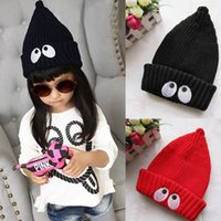 anne babies - New Arrival Cute Baby Toddler Kid Boys Girls Button Fur Ball Knitted Winter Warm Hat Cap Knit Unisex gorro Anne