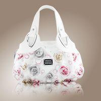 beautiful handbags - Hot Fashion Korean Handbag Beautiful Women PU Leather Borse Printing Bolsos Many Style Torebki Satchel Drop WHOLESALES X282