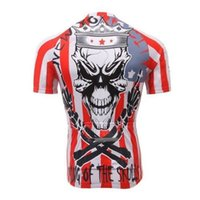 Wholesale Cycling Jerseys Good Quality Skull Cycling Bike Short Sleeve Clothing Bicycle Wear Jersey suit jackets for kids