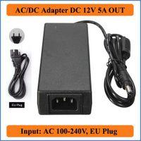 ac power plug audio - 12V A EU Plug AC DC Adapter AC100 V Converter to DC V Supply Power Charger For LED Strip light LCD Monitor Audio Video
