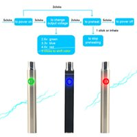 auto battery voltage - 510 Thread Pre heat Batteries for E Cig Variable Voltage eCig mAh Auto Preheating Battery for CBD Hemp Oil Cartridge Glass Tank