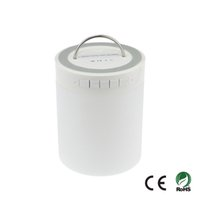 Wholesale Bluetooth Speaker LED Lamp Night Light Touch Pad Lantern TF mm Audio Input Outdoors Camping