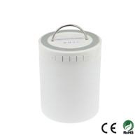Wholesale Bluetooth Speaker LED Lamp Night Light Touch Pad Lantern TF mm Audio Input Outdoors Camping