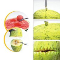 Wholesale Home Kitchen Bar Fruit Carving Cutter Watermelon Cantaloupe Melon Dig Ball Scoop
