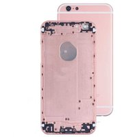 Wholesale OEM iPhone s Back Panel Metal Housing Battery Door Back Cover Middle Frame Assembly Replacement Parts