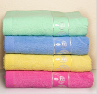 beach environmental - 50pcs High Quality Kutto Brand Polyester Cotton Bath Towel Big Beach towel BathTowel Super Absorbent Soft safety Environmental x140cm