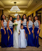 Cheap Reference Images Royal Blue Bridesmaid Dresses Best Trumpet/Mermaid Halter Bridesmaid Dress 2016 Mermaid Style