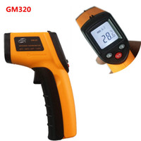 Wholesale GM320 Laser LCD Digital handheld IR Infrared Thermometer Temperature Meter Gun Point Degree Non Contact Thermometer