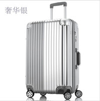 Wholesale quot quot quot inch zipper travel suitcase trolley rolling luggage with wheels hardside
