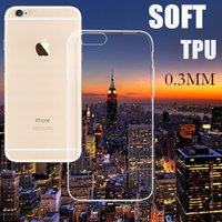 Wholesale 0 mm Ultra Thin Slim Soft Silicone Clear Transparent TPU Gel Case For iPhone Plus SE S S Plus Samsung Galaxy S6 edge S5 Note