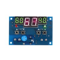 Wholesale 12V Digital Thermometer Thermostat Temperature Controller Heating Cooling Control stazione meteo termometro digitale thermometre