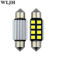 Wholesale LED mm Pure White CANbus C5W Bulbs For Samsung SMD License Plate Light For BMW E39 E36 E46 E90 E60 E30 E53 E70