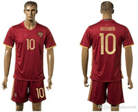 Wholesale russia EURO CUP european national team soccer jersey shirt uniform kit home away kits jerseys man uniforms men shirts europe tailand