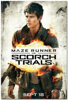 arts trial - The Maze Runner The Scorch Trials Movie Art Silk Wall Poster x36inch
