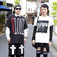 asap printing - 2016 New Palace EDC Vlone Tee Men s T shirt Fashion Brand DGK Hip Hop Tee Vlone ASAP Rocky Camo Skateboard T Shirt Homme
