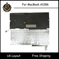 Wholesale New Original UK Keyboard for MacBook Pro quot A1286 Year Full Tested