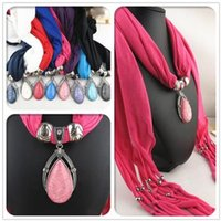 Wholesale Pendant Fringed Scarf Drop Style Pendant Jewelry Scarf New Design Fashion Women Tassel Shawl DIY Scarf Europe Popular