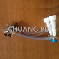 automatic milker - Small Farm Dairy Goat Cluster Group for Portable Milker with Vacuum Shut off Valve and Semi automatic Valve