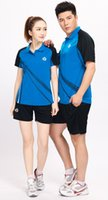 Wholesale Volleyball suit set male Women volleyball training suit badminton tennis Women male