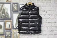 Wholesale M54 French Famous Brand anorak men winter vest High Quality Warm Plus Size Man Down and parka anorak vest