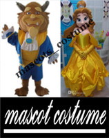 beast music - princess belle the beauty and the beast mascot costume for adult to wear for sale for party