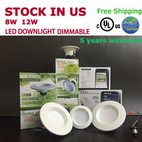 bedding canada - High Quality CE RoHS FCC UL cUL Approved Dimmable LED Downlight E26 W W For US Canada Residental Commercial Lighting