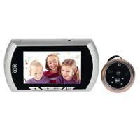 Wholesale 4 Inch Video Doorbell LCD Digital Peephole the Electronic Eye Degree IR Camera F1622D