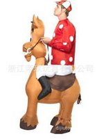 Wholesale Party wacky fun inflatable inflatable donkey Mascot Costumes
