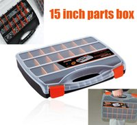 Wholesale High grade15 inch plastic parts boxes storage compartments storage tools electronic components storage box