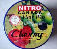 Wholesale 2016 New Arrive High Quality Pomades Waxes Hair Styling Tools Canada Fruits Kiwifruit Hair Wax