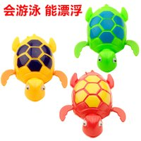 Cheap New 2016 Wind up Swimming Funny Turtle Turtles Pool Animal Toys For Baby Kids Bath Time Free Shipping wd001