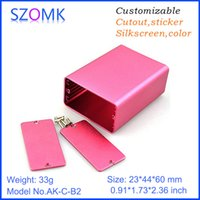 aluminum extrusion supply - szomk extrusion box electronics power supply switch box aluminum amplifier diy box distribution enclosure mm AK C B2