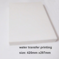 Wholesale 20pcs set Water Transfer Printing Film for Inkjet printer A3size hydrographic film decorative material