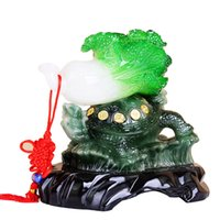 art craft business - Return the jade cabbage Desay ornaments Home Furnishing creative arts and crafts business Fengshui decorations