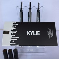 automatic paint brush - NEW Kylie automatic eyebrow pencil color with brush eye brow pencil eyebrow enhancer paint waterproof long lasting comestic