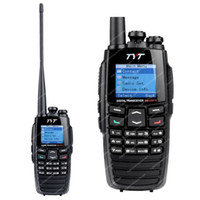 Wholesale NKTECH Remote Speaker Mic and TYT DM UVF10 With GPS MHz Dual Band DPMR CH Digital Transceiver Two Way Radio