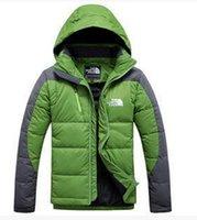 Wholesale 16 Winter leisure Thick Outdoor Windbreaker Heavy warm waterproof Coats Down Jacket M L XL XXL