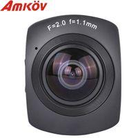 Wholesale Original AMKOV AMK100S Degree Full Visual Angle P FPS Waterpfoor Case Action Sports Camera Recorder