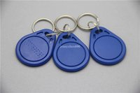 abs iso - waterproof customized ISO Approved ABS material bit RFID Khz Proximity khz access Tk4100 Key Fob from China supplier
