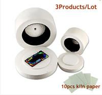 Wholesale 2pcs Microwave Fusing Glass Kiln Large Small Kilns Kiln Paper