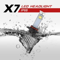 Wholesale 9006 car headling led W LM Driving Lamp Bulb Xenon Motorcycle Car Light Source K Fog Lamp