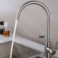 Wholesale Pb Free Green and Healthy Stainless Steel unleaded kitchen Faucet High Quality Years warranty Hot and Cold Water kitchen mixer tap