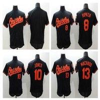 baseball fines - Baltimore Orioles fine men Adam Jones Ripken Jr Flexbase the authentic collection cream gray white baseball jerseys