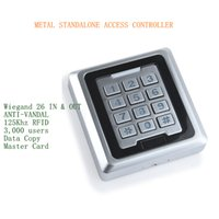 Wholesale New Arrival Users KHz RFID Metal Anti vandal Access Control Keypad Support Copy Data Directly Between Two Same Models