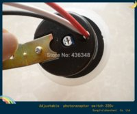 Wholesale Hot Light Control Switch v Street Light Lamp Controller Sensitivity Adjustable Rainproof w Photo Control Sensor