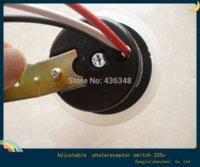 Wholesale Hot Light Control Switch v Street Light Lamp Controller Sensitivity Adjustable Rainproof w Photo Control Sensor