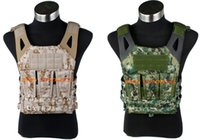 Wholesale TMC N Jump Plate Carrier AOR2 amp AOR1 JPC Vest Molle Combat Vest With Dummy Plate SKU12050263