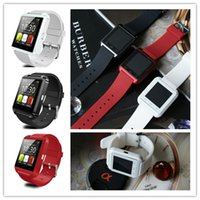 Wholesale Hot Bluetooth U8 Smart Watch Silicone Wrist Watches Band W Altimeter For Apple iPhone Samsung S6 Note HTC Android Phones Outdoor Sports